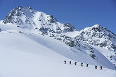 Jamspitz (twoeye) Tags: silvretta alpene skitur ski alps skiing austria glacier blue white sky snow explored explore