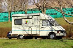 Renault Trafic Camper (Dirk A.) Tags: meep473 renault trafic camper