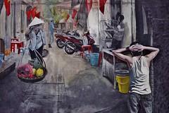 Hanoi - murale (luco*) Tags: vietnam hanoi murale street art