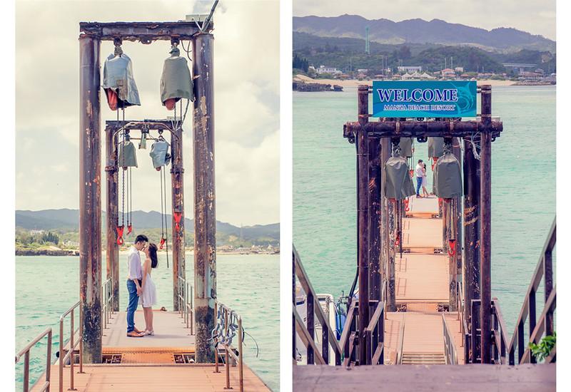 沖繩婚紗,沖繩海邊,婚紗攝影,海外婚紗