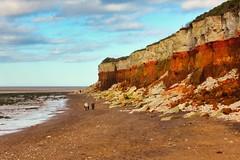 Hunstanton Cliffs (Keith Coldron) Tags: beach sea cliffs coloured sky clouds rocks