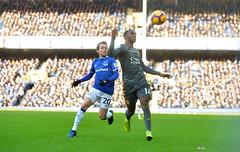 Everton FC v Leicester City (Alex Hannam) Tags: sport soccer clubsoccer liverpool england unitedkingdom gbr leicester leicestercityfootballclub leicestercity lcfc everton ricardopereira