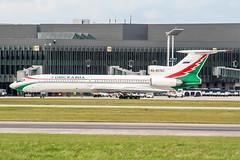 RA-85763 (PlanePixNase) Tags: hannover eddv haj aircraft airport planespotting langenhagen omskavia tupolev tu154 t154