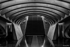 Luik, Station Liège-Guillemins. (What's Around) Tags: stationliègeguillemins binnenzicht 1750mm station luik