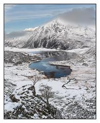 Ogwen Valley (shaunyoung365) Tags: landscape wales snow winter sonya7riii mountain llynogwen
