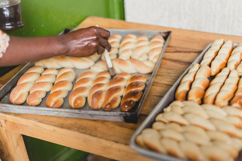 Image result for african woman baking bread