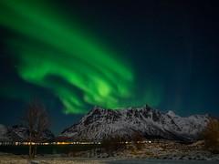 A night like this.... (katrin glaesmann) Tags: lofoten norway 2018 winter nordland unterwegsmiticelandtours photographyholidaywithicelandtours northernlights auroraborealis polarlys nordlys aurorapolaris sildpollneskapell