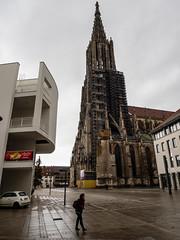 Stadthaus am Münster (ex apparatus) Tags: architecture cathedral white modern old ulm münsterplatz münster stadthaus