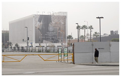 Los Angeles_0002 (Thomas Willard) Tags: downtown urban concrete la losangeles lot park parking california tarmac asphalt advertisement banner billboard viceroy street frieze photography