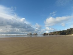 low tide (carolyn_in_oregon) Tags: oregon pacificocean cannonbeach