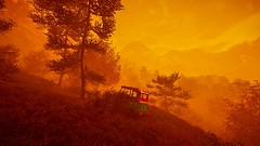 FarCry4 (screenreel) Tags: farcry4 ubisoft videogame graphics gpu pc nvidia duniaengine sunset tree sky mountain grass atmosphere screenshot camera angle blur vehicle byke shooter leaf day light orange horizon clouds sunny forest spruce colorful nature landscape ground