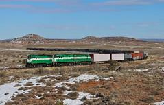 Snowflake, Arizona (UW1983) Tags: trains railroads apacherailway alco c424 c420 snowflake arizona