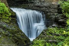 Watkins Glen Close Up (Ralph Earlandson) Tags: upstatenewyork newyork fingerlakes watkinsglen waterfall watkinsglenstatepark