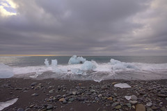 'Ice Beach #2' (Timster1973 - thanks for the 16 million views!) Tags: iceland icelandic land landscape landscapes beautiful tim knifton timster1973 timknifton exploration canon color colour travel trip beach coastal coast cold clouds water waterscape sea seascape icebeach