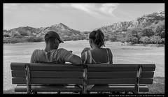 _MG_7194c (Steven Encarnación) Tags: steven encarnacion photographer canon 6d ef 40mm f28 hawaii oahu availablelight blackandwhite people bench trees shade