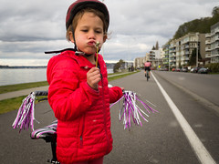 Dandelion (Sergiy Matusevych) Tags: alki beach west seattle wa washington elizabeth kids family bike bicycle puget sound