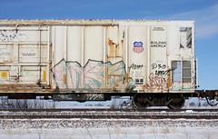 Wyse (quiet-silence) Tags: graffiti graff freight fr8 train railroad railcar art wyse a2m dirty30 d30 armn reefer unionpacific armn762179