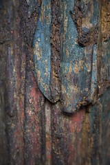Altération (Gerard Hermand) Tags: 1902076947 gerardhermand france paris canon eos5dmarkii museebourdelle abstract abstraction abstrait detail museum musee statue bois sculpture wood