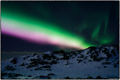 Aurora, Feb. 8 2019 (EXPLORE, Feb 14 2019, #23) (RKop) Tags: aurora auroraborealis iceland raphaelkopanphotography d500 nikkor24mmf28