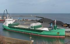General Cargo Ship: ARKLOW VILLA Seaham Harbour (emdjt42) Tags: boat ship shipping generalcargoship arklowvilla seahamharbour