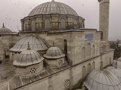 Sokollu Mehmed Pasha Mosque (Kadırga) from the air (CyberMacs) Tags: drone projectweather airphotos architecturalstyle cami dji dronephotography fatih fog fogday islamicarchitecture istanbul mimarsinan muslim ottoman ottomanarchitecture phantom3 places skyphotos sokollumehmedpashamosque sokollumehmedpaşakülliyesikadırga sokollumehmetpaşacamii turkey weather aerialphotography camii droneography foggy fromabove minaret mosque religion