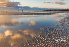 Late afternoon on the beach (cliffwilliams449) Tags: autumn cliffwilliams fall landscape photography snowdonia wales coast beach goldenhour greatphotographers greaterphotographers