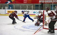 Feb 21 2019 Ladies Ringette BC vs NB-66 (suejudge) Tags: ringette ice rink team skater skate sheet play sport women red deer alberta canada winter games