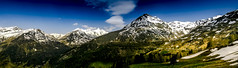 A sunny day in the Alps (Iso_Star) Tags: ilce6500 forrest berge alpen natur landscape nature mountains mountain bäume trees himmel sky clouds wolken sony alpha6500 30mmf14dcdn sigma 30mm contemporary panorama wald schnee snow grosglockner österreich kärnten austria