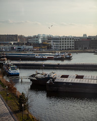 Amsterdam Houthaven 001 (Igor Klajo) Tags: amsterdam netherlands niederlande nederland houthaven water waterscape ship port crane canoneos5dmarkii canon canonef2470mmf28liiusm northholland nl