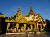 Shwedagon Pagoda 3 (Claire Backhouse) Tags: myanmar yangon rangoon burma street streetphotography urban life living people city citylife shwedagon pagoda temple stupa gold gilded firstlight sunrise