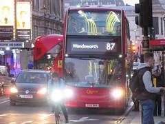 Go Ahead London EH38 (Teek the bus enthusiast) Tags: central london buses transport for go ahead stagecoach abellio rm gal abl stg