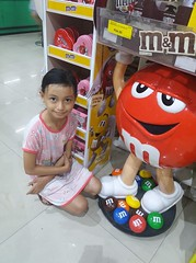 I love M&Ms (ghostgirl_Annver) Tags: asia asian girl annver teen preteen child kid daughter sister family mm supermarket chocolate candy sweets