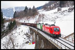 ÖBB 1116 056, Bad Hofgastein 30-12-2017 (Henk Zwoferink) Tags: badhofgastein salzburg austria at