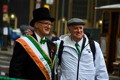 2019 Philadelphia St. Patrick's Day Parade Grand Marshal Sean McMenamin and parade director Michael Bradley