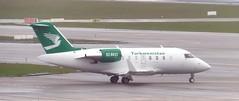 EZ-B023 Canadair 601 Challenger, Govt of Turkmenistan BRU 150319 (kitmasterbloke) Tags: brussels zaventem bru ebbr aircraft aviation jet belgium outdoor transport