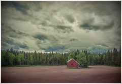 """White Night"" in Sweden (kurtwolf303) Tags: blockhaus bäume europa himmel landschaft schweden skandinavien wald wolken forest sweden sky building clouds trees kurtwolf303 landscape whitenight mft omd microfourthirds olympusem1"