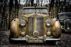 Rolls Royce (LaR0b) Tags: abandoned lar0b lost hdr highdynamicrange bavaria car vehicle transport old oldtimer rusty rolls royce decay ue urbex urban exploring exploration