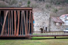 Casino (Salins-les-Bains, France)-106 (MMARCZYK) Tags: france bourgogne franche comté salins les bains architecture jura 39 malcotti roussey casino corten rouillé acier