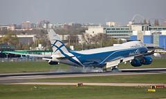 VQ-BVR - Boeing 747-867F - LHR (Seán Noel O'Connell) Tags: airbridgecargo vqbvr boeing 747867f b747 b748 747 heathrowairport heathrow lhr egll svo uuee 09l ru481 abw481 freightliner cargo aviation avgeek aviationphotography planespotting