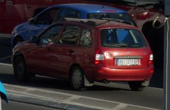 2008 Lada Kalina Wagon (VAZ-1117) (FromKG) Tags: lada kalina wagon vaz 1117 red belgrade serbia 2019 car
