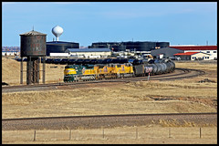 UP 1995 (golden_state_rails) Tags: up up1995 cnw chicago northwestern union pacific overland route speer wy wyoming laramie subdivision emd sd70m sd70ace heritage