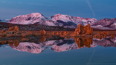 Mono Lake Alpenglow (Jeff Sullivan (www.JeffSullivanPhotography.com)) Tags: lake basin winter snow monocounty sierranevada leevining california united states usa landscape nature travel photography nikon d850 photo copyright 2019 jeff sullivan january