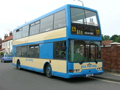 Isle Coaches T411 BNN (Isle Drive) Tags: dennis trident east lancs t411bnn isle coaches nottingham