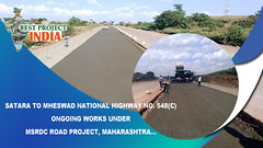 Satara to Mheswad National Highway No. 548(C) ongoing works under MSRDC Road Project, Maharashtra (bestprojectsinindia) Tags: bestprojectsinindia meil megha projects kaleshwaram best water grid engneering compnay telangana project videos