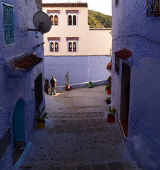 Chefchaouen, Morocco, January 2019 D810 590 (tango-) Tags: chefchaouen bluecity villaggioblu bluevillage morocco maroc 摩洛哥 marruecos марокко المغرب