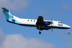 EC-JDY_05 (GH@BHD) Tags: ecjdy beech beechcraft beech1900c serair ace gcrr arrecifeairport arrecife lanzarote aircraft aviation airliner turboprop cargo freighter