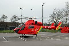 London's Air Ambulance in Colney Hatch (kertappa) Tags: img3562 air ambulance londons london hems doctor paramedics hospital glndn emergency helicopter kertappa colney hatch powerleague barnet