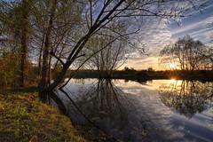 Davis Rd Pond (J Labrador) Tags: canoneosrp eosrp irix irix15mmf24firefly irix15mmf24 irixedge128nd water pond sky sunset reflections