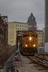 Thunder Struck (Nick Brown Photography) Tags: train railroad railfanning locomotive emd bnsf milwaukee photograph