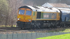 66725 'Sunderland FC' on 6E09 (thetrainsurfers) Tags: car grass tree walking new old art leaves stones railways uk metal man machine nature earth planet flickr photography water tracks lines england trainspotter trainspotting colours location trains fence weather concrete driver landscape people outside vehicle british railway picture road railroad train sky rail day diesel locomotive hazard windshield photo gbrf liverpool biomass terminal bridge junction denton drax aes 6e09 66725 sunderland sunderlandfc 20032019